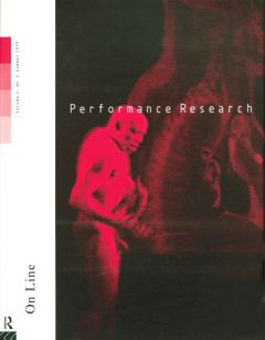 Front cover of Performance Research: Volume 4 Issue 2 - On Line
