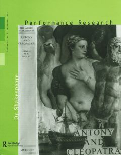 Front cover of Performance Research: Volume 10 Issue 3 - On Shakespeare