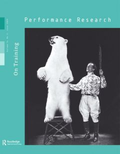 Front cover of Performance Research: Volume 14 Issue 2 - On Training