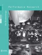 Front Cover of Performance Research: Volume 14 Issue 3 - On Dramaturgy