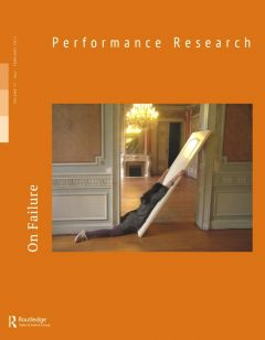 Front cover of Performance Research: Volume 17 Issue 1 - On Failure
