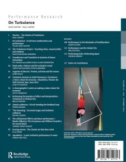 Back cover of Performance Research: Volume 19 Issue 5 - On Turbulence