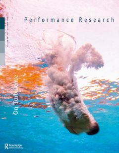 Front cover of Performance Research: Volume 19 Issue 5 - On Turbulence