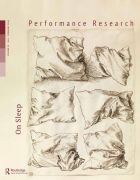 Front Cover of Performance Research: Volume 21 Issue 1 - On Sleep
