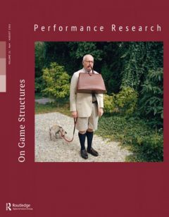 Front cover of Performance Research: Volume 21 Issue 4 - On Game Structures