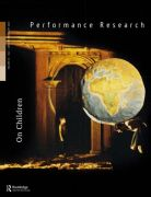 Front Cover of Performance Research: Volume 23 Issue 1 - On Children