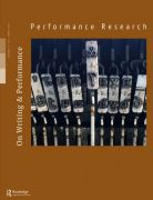 Front Cover of Performance Research: Volume 23 Issue 2 - On Writing & Performance