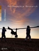 Front Cover of Performance Research: Volume 23 Issue 3 - On Climates
